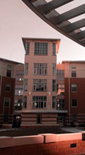 On-campus student housing - Centennial Court